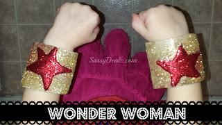 wonder woman toilet paper roll craft