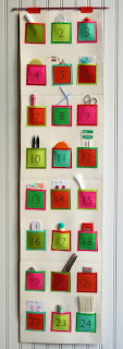 felt advent calendar tutorial