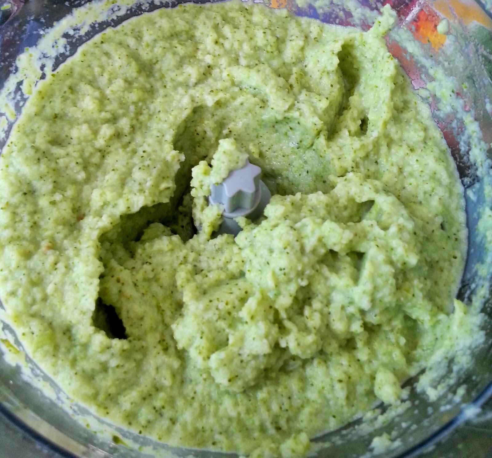 receita purê brócolis couve-flor