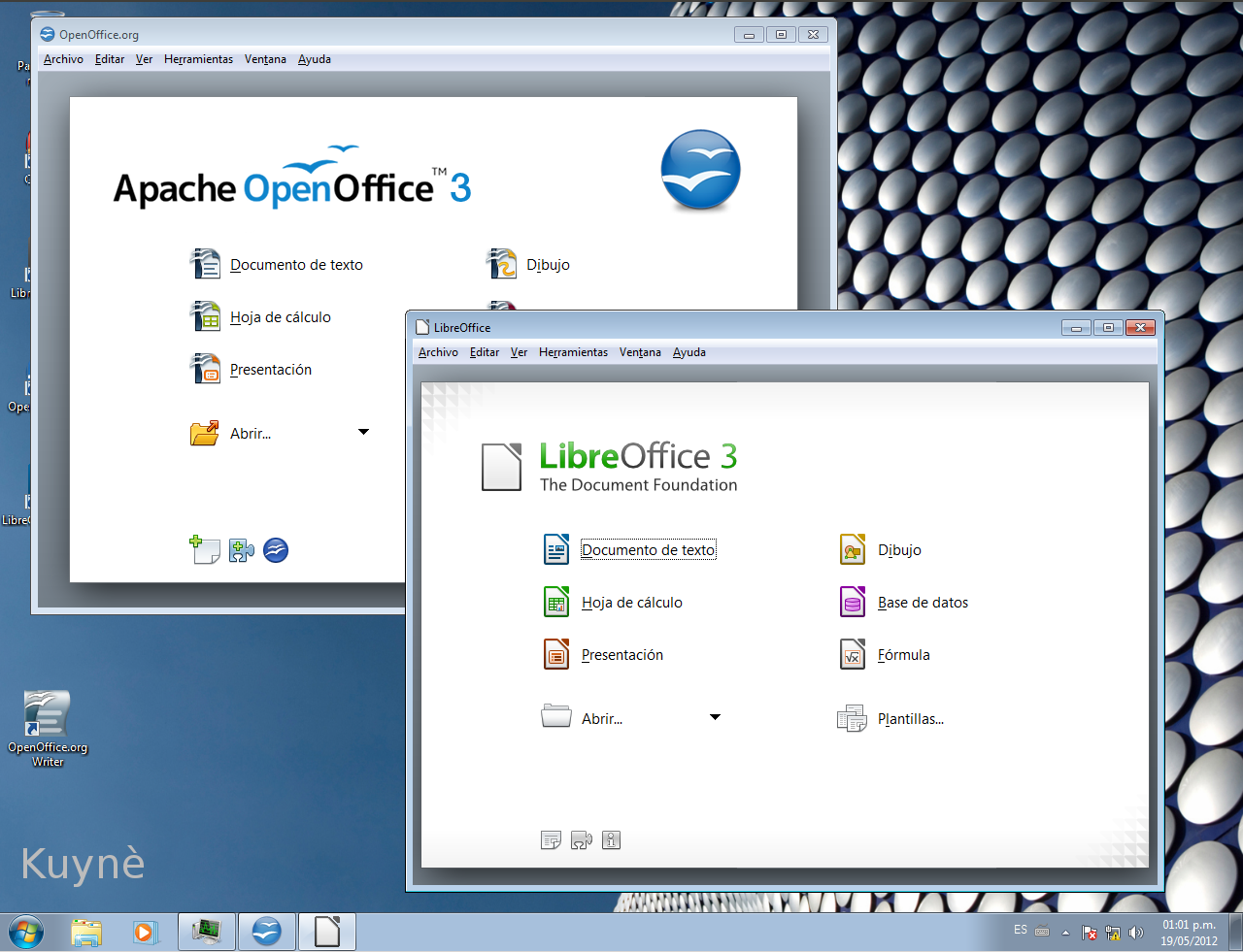 Kuyn libreoffice 3 5 vs apache openoffice 3 4 - Open office windows 7 gratuit francais ...