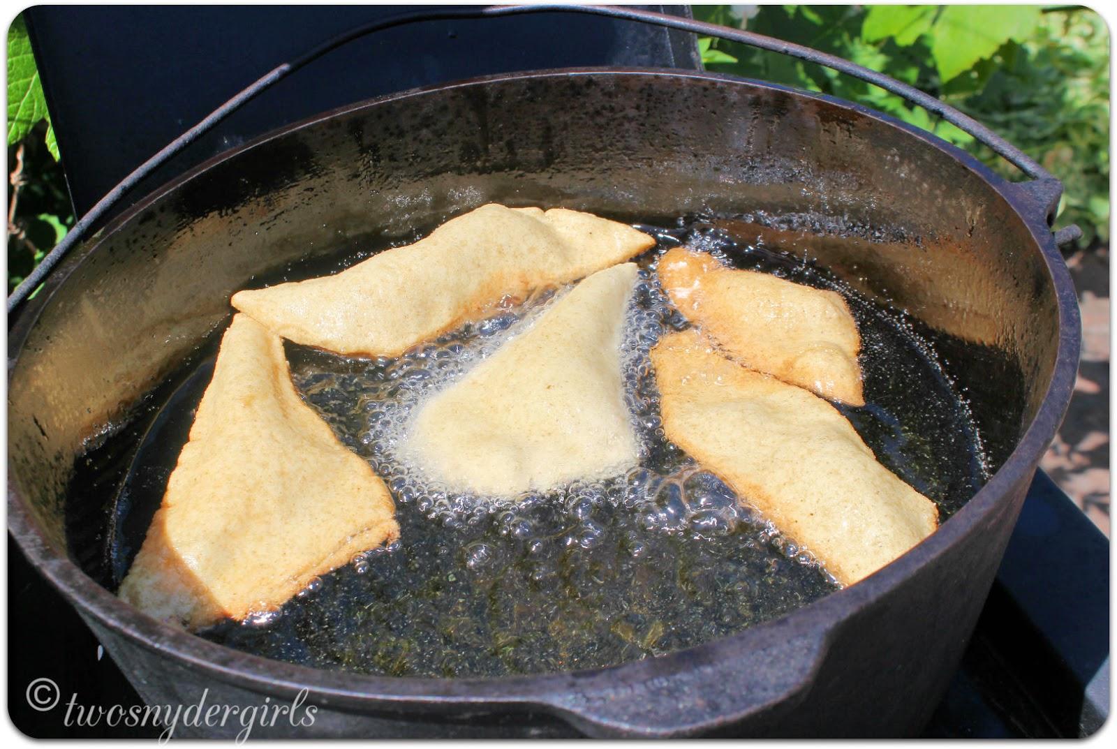 Frying Rollkuchen