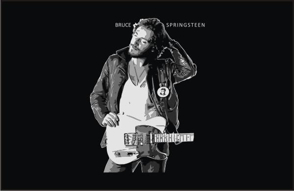 bruce_springsteen-portrait_front_vector