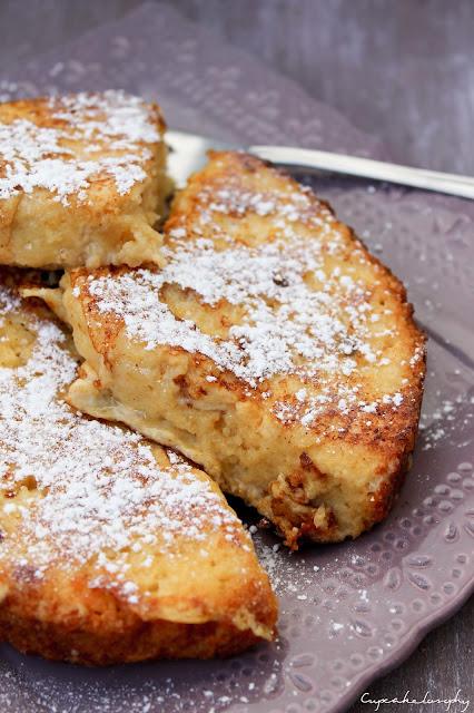 ... su videoreceta y yo he querido seguir sus pasos haciendo French Toast