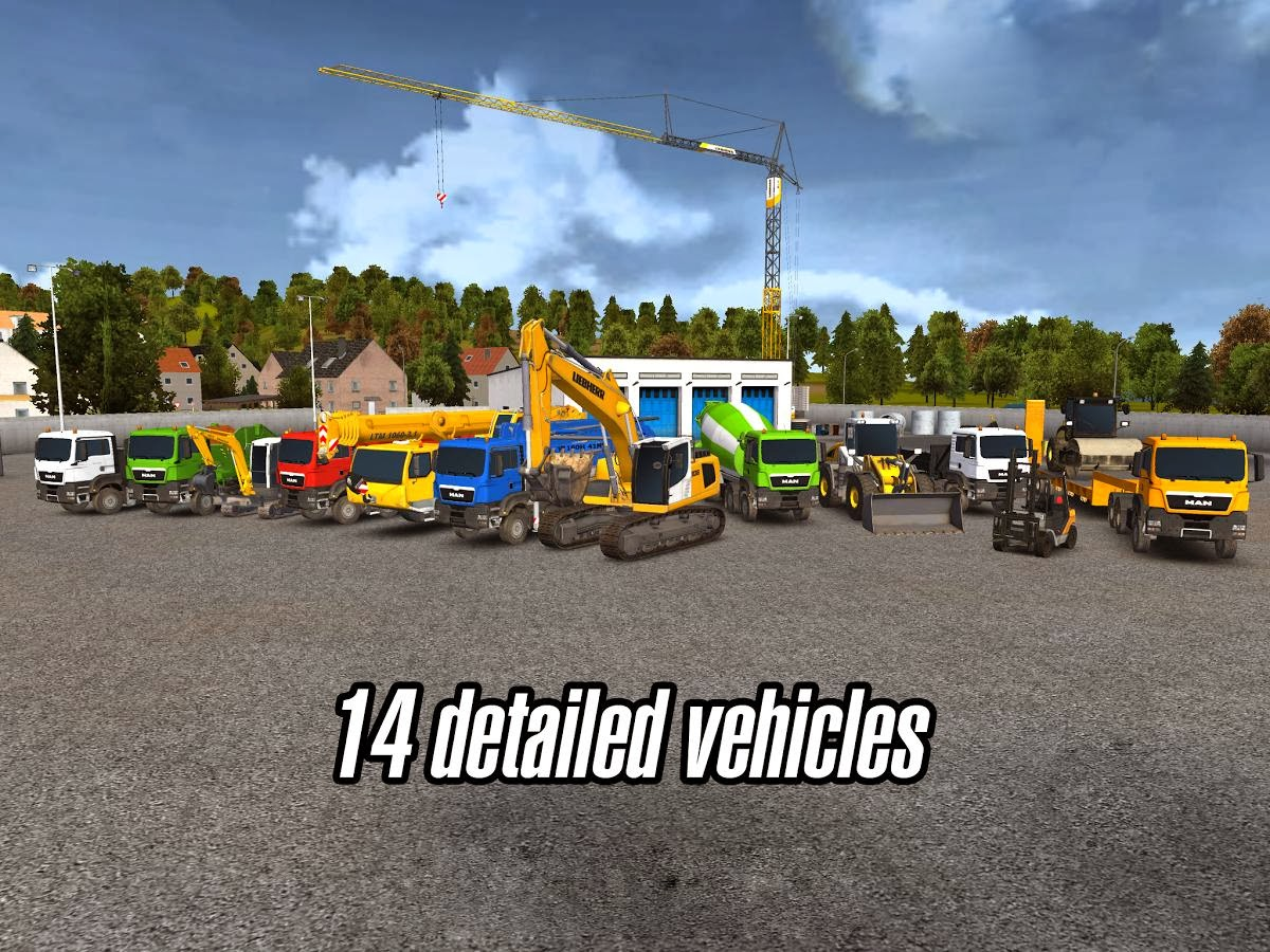 Construction Simulator 2014 APK DATA V1 0  1 0  Download
