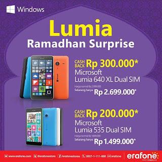 Lumia Ramadhan Surprise Promo Hingga 31 Juli 2015