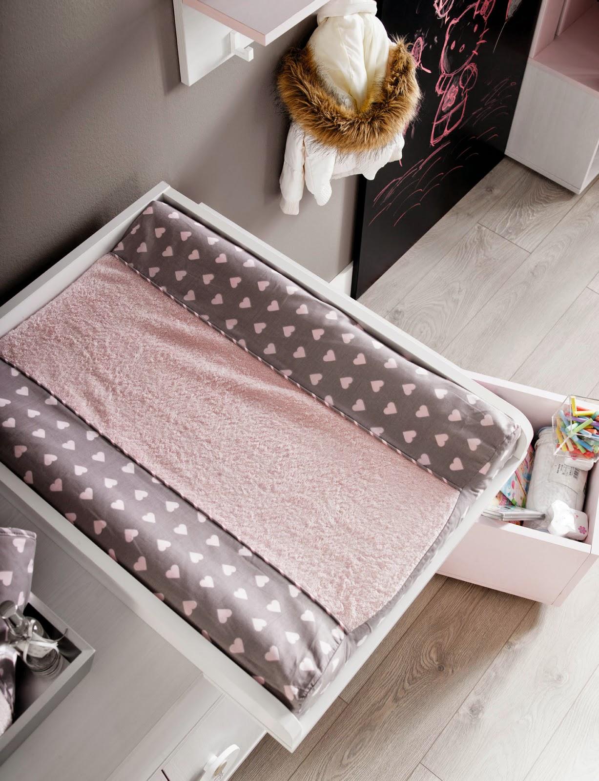 Muebles ros c moda cambiador una pieza imprescindible en - Comoda cambiador bebe ...