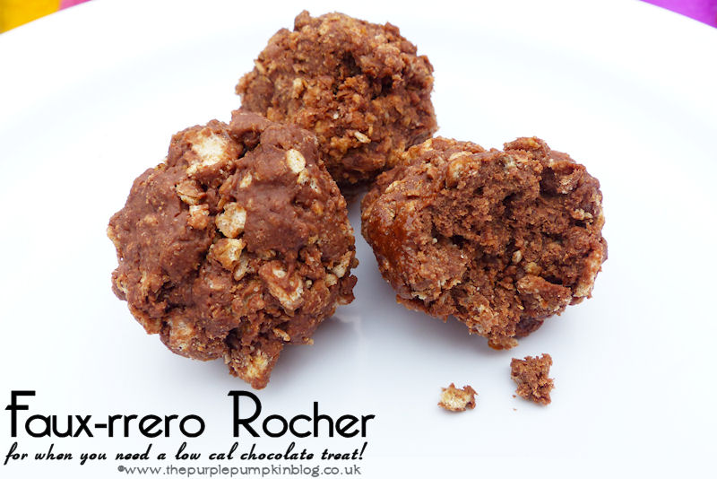 Faux-rrero Rocher – for when you need a low cal treat!