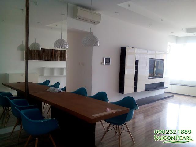 Cho thuê căn hộ SAIGON PEARL tòa nhà Topaz 1 135m2 view Quận 2