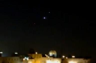 ovni sobre templo de jerusalen en 2012