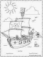 Gambar Kapal Bajak Laut