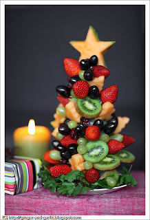One Beautiful Edible Centerpiece For The Christmas Party