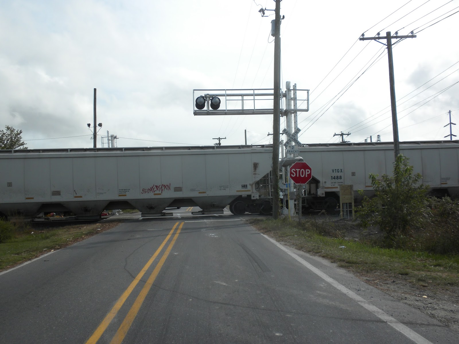Delmar (MD) United States  city photos : Delmar DustPan: Work On The Norfolk Southern Crossing Lights at ...