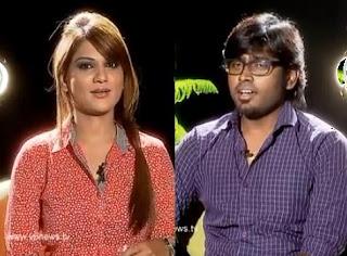 Singer Deepu in Kathi Karthika Show