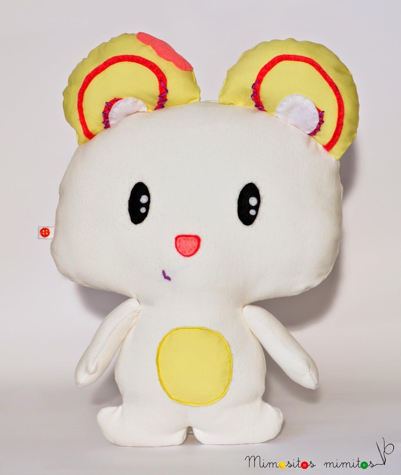 donuto muñeco personalizado tela hecho a mano handmade stuffed toy customized
