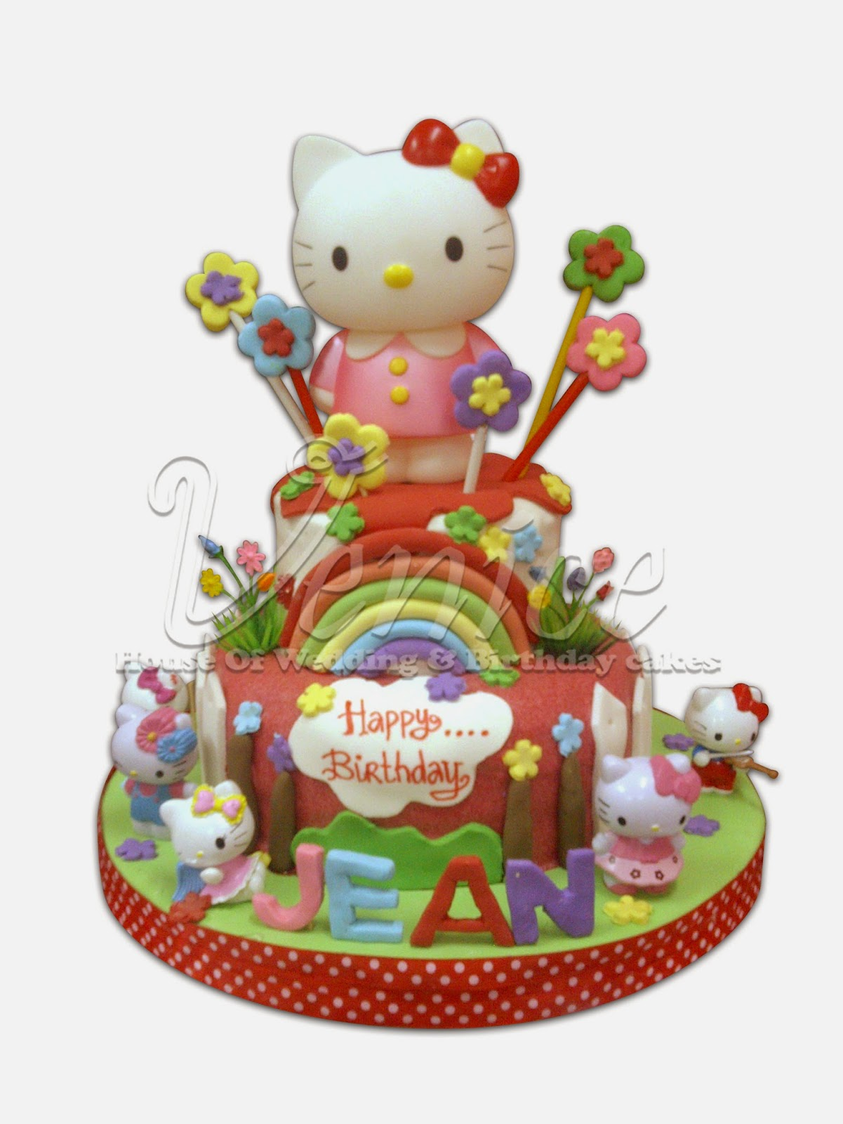 VENICE House of Wedding and Birthday Cake SEMARANG HELLO KITTY