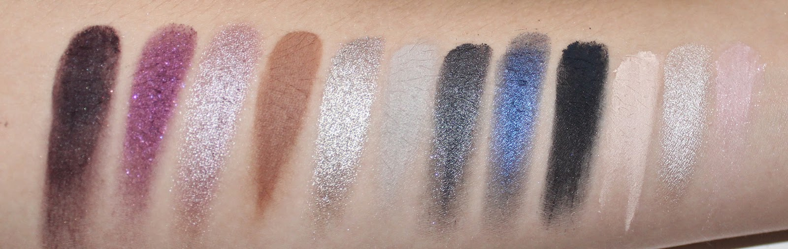 Kat Von D Chrysalis Eyeshadow Palette Swatches