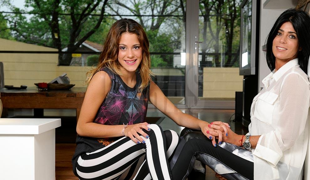 Martina Stoessel, la protagonista de Violetta. Hija del espectáculo