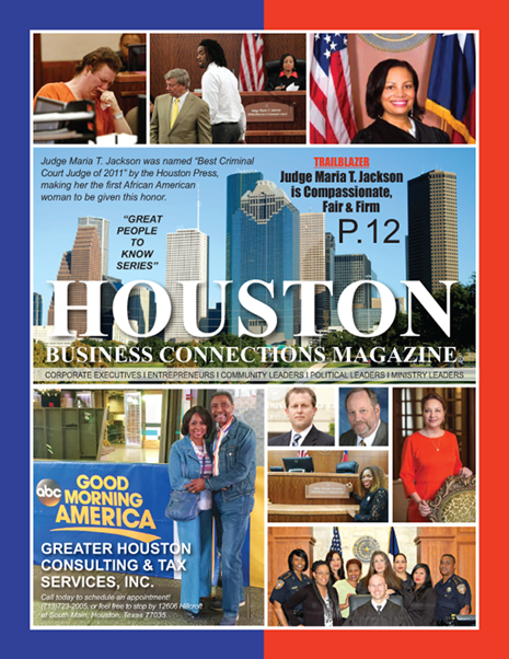 01 - EDITION OF HOUSTON BUSINESS CONNECTIONS MAGAZINE