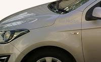 New 2012 Hyundai i20 Facelift Spied