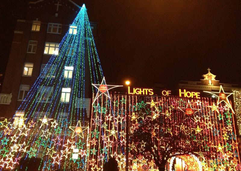 St Pauls Hospital Lights of Hope Vancouver