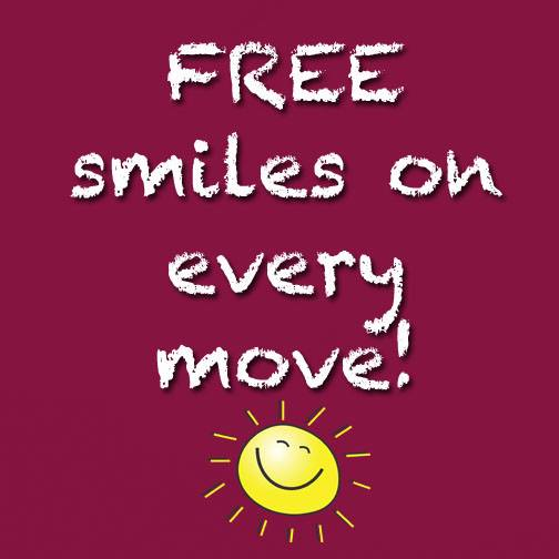 FREE smiles with 4 Friends Moving Wellington