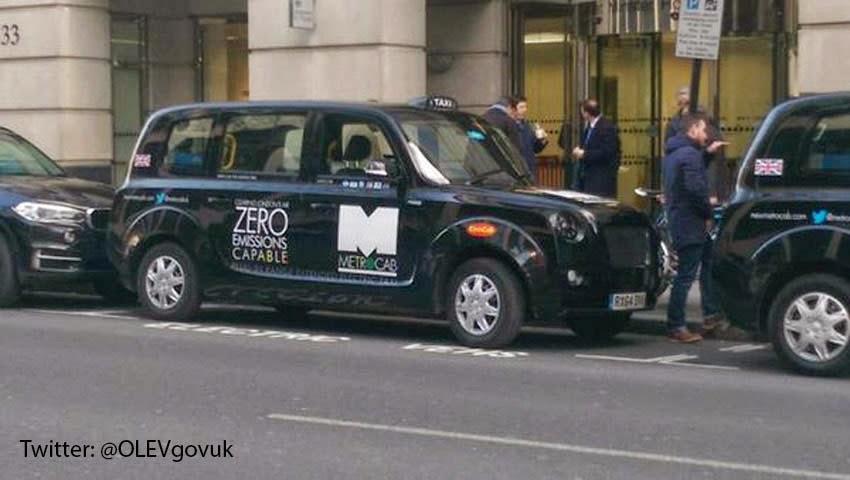 Electric Metrocab closely resembles its predecessor.