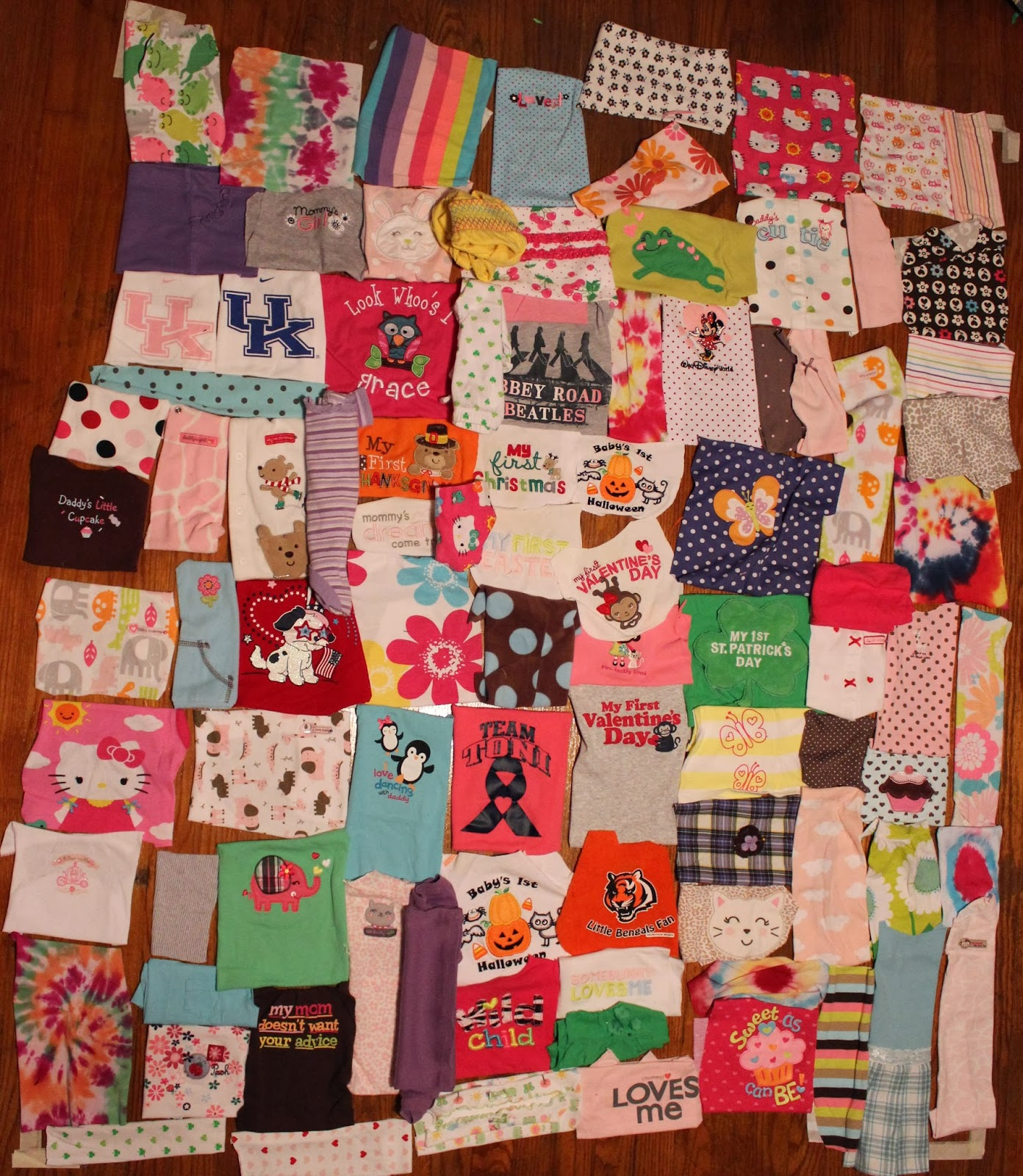 Katie's Quilts and Crafts: Grace's Quilt : making a picture quilt - Adamdwight.com