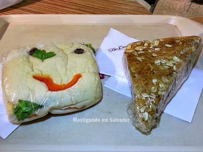 Du Cacau: Beirute e Empanada Integral de Ricota