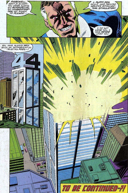 Fantastic Four explosion