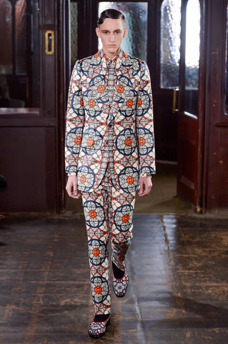 Hello, Tailor: Fall 2013 Menswear: Alexander McQueen.