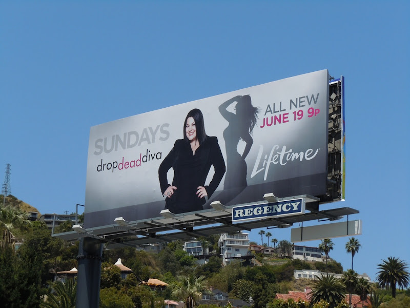 Drop Dead Diva season 3 billboard