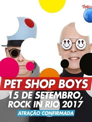 Pet Shop Boys - Rock in Rio 2017 Filmes Torrent Download capa