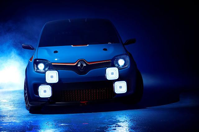 Renault Twin'Run Concept Car lights