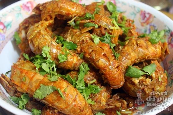 resep masak udang lipan resep