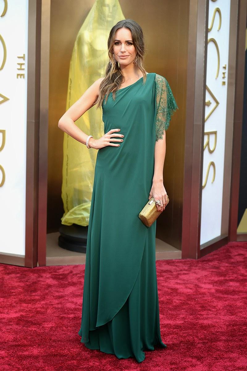 Louise Roe - Gala Oscars 2014 - Pronovias