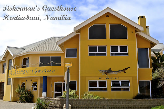 Fisherman's Guesthouse in Hentiesbaai, Namibia