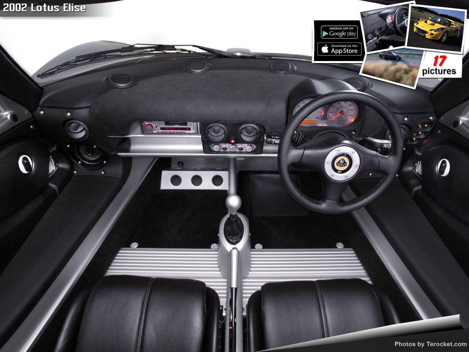 Hình ảnh siêu xe Lotus Elise 2002 & nội ngoại thất