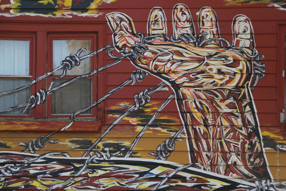 Chicago architecture cityscape pilsen murals hector for Diego rivera mural chicago