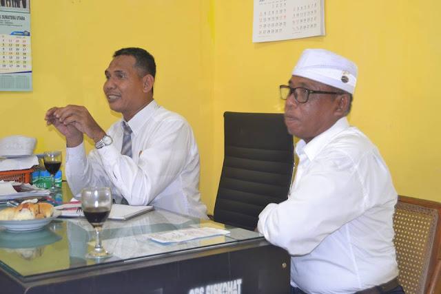 Kasi Haji dan Kepala PYMT Menyampaikan Bimbingan