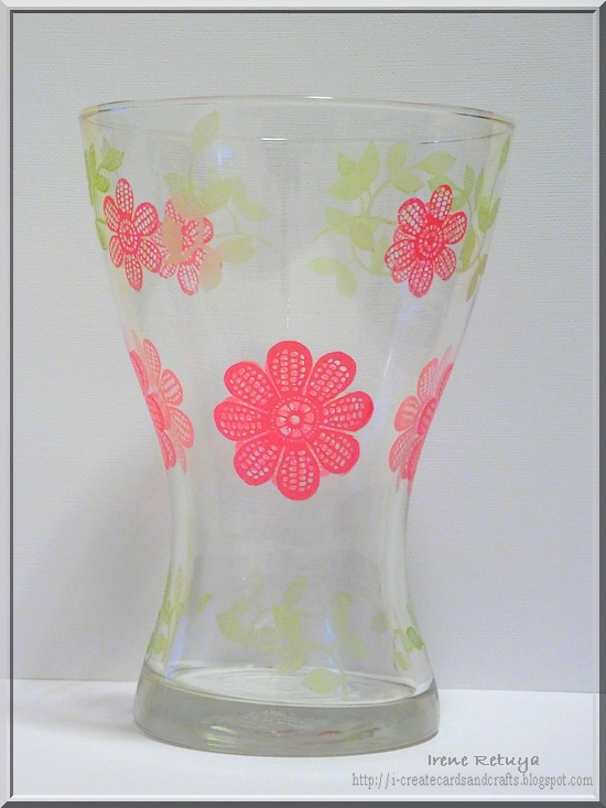 I Create Cards Crafts Martha Stewart Glass Paints And Silkcreens