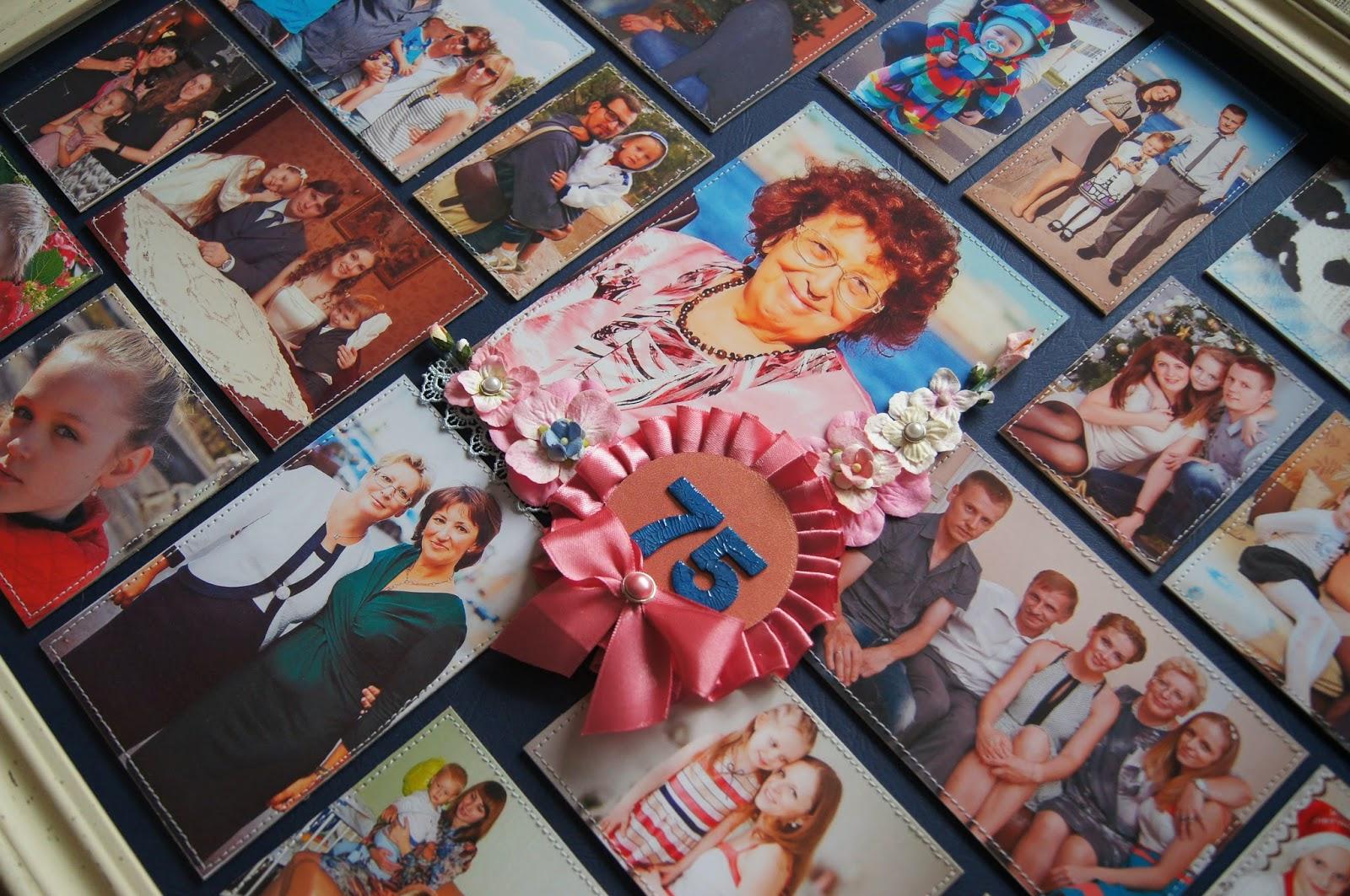 Коллаж для бабушки на день рождения своими руками
