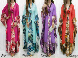 Gamis Batik fit to XL