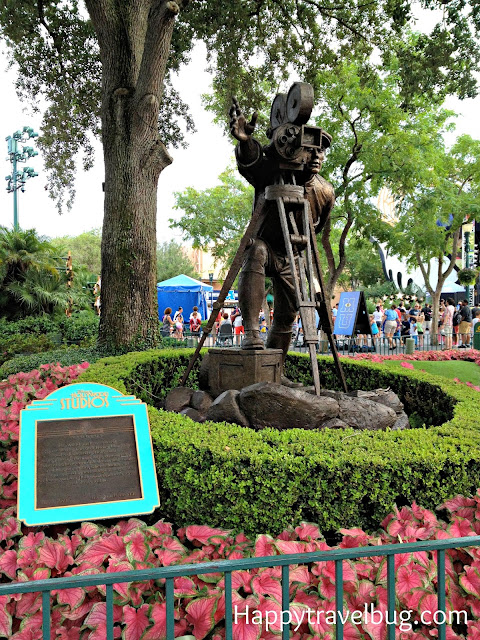 Walt Disney statue at Hollywood Studios