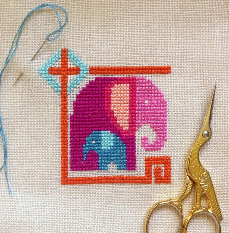 Decoestilo12: Los diseños molones en punto de cruz de Jody Rice.
