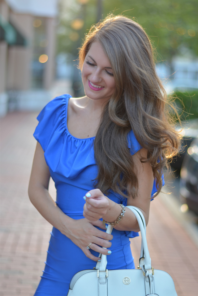 Prettiest blue dress