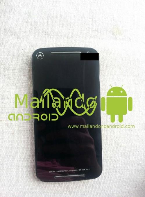 Prima immagine live del successore del Moto G; ecco Motorola Moto G2