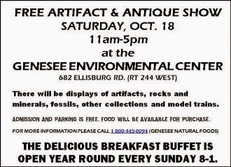 10-18 Free Artifact & Antique Show