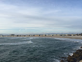 Marina del Rey beach looking north