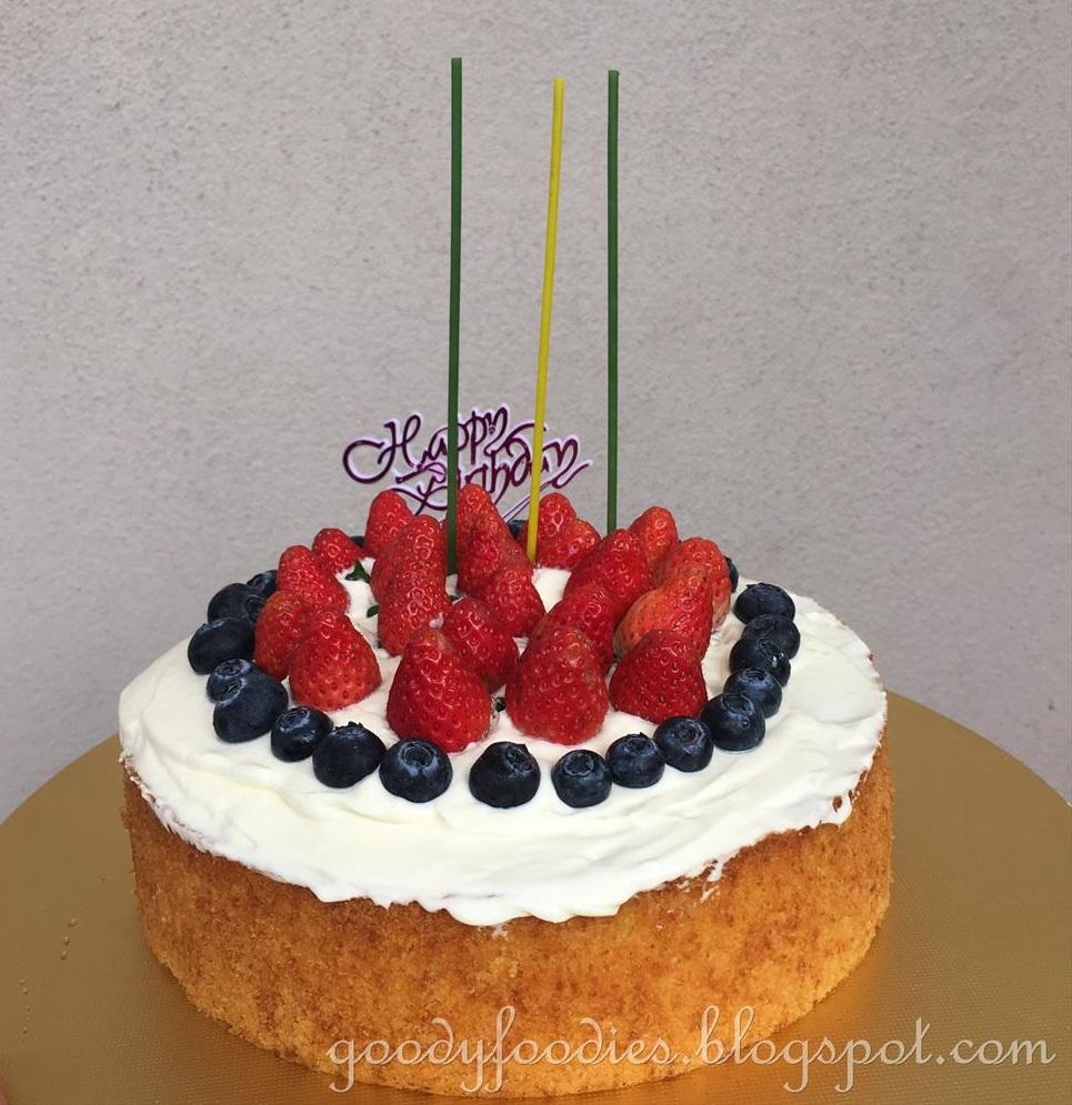 Fruit Chantilly Cake Whole Foods