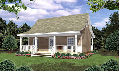 Veiw our Log cabin plans, log home plans, Vacation home plans, at ...